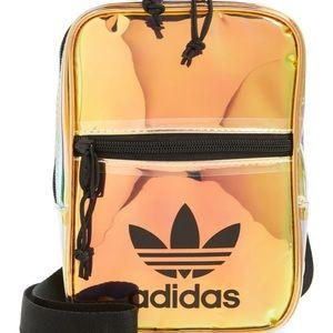 Adidas Holographic Iridescent Festival Xbody Bag